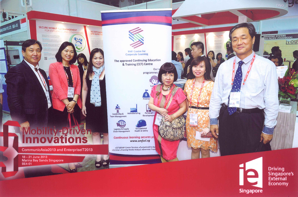 CommunicAsia 2013, SMF Networking Session 참석