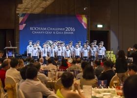 40 싱가포르한국국제학교 어린이 합창단 개회공연