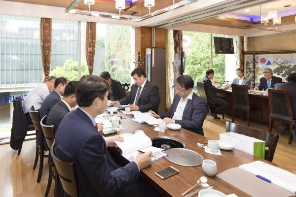 2017회계연도 제1회 운영위원회 개최