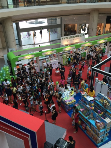 한국 베지테리언 식품 싱가포르 소비자를 만나다