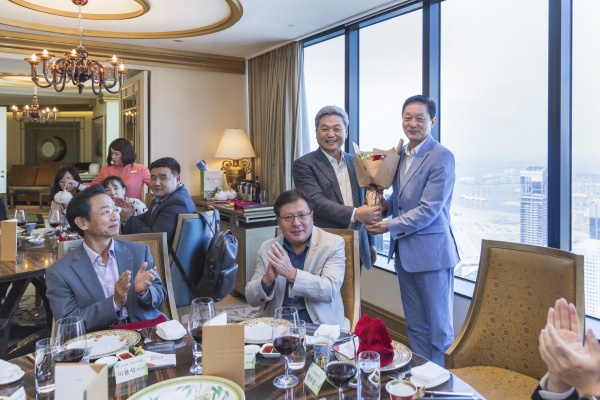재외동포재단 한우성 이사장, 싱가포르 진출 기업 오찬 설명회 개최 (포토 뉴스)