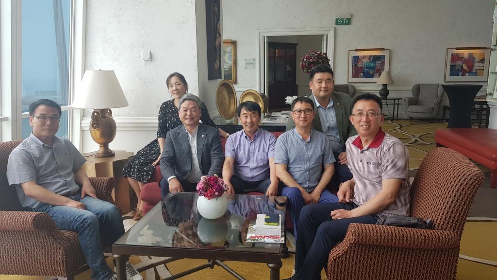 송탄 농협&평택시 싱가포르 방문 오찬: 2018.5.16