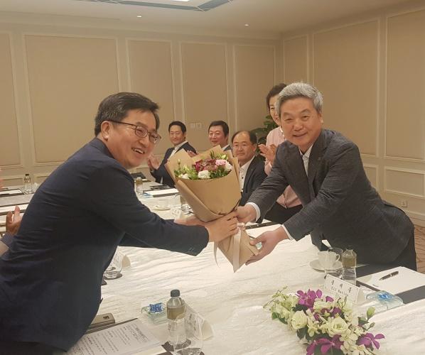 김동연 부총리- 싱가포르 기업인 간담회 개최