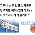 (2020.5.29 업데이트) 코로나 19로 인한 싱가포르 정부지원 혜택 (4차 Fortitude 예산안)