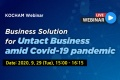 [KOCHAM Webinar] Business Solution for Untact Business amid Covid-19 pandemic